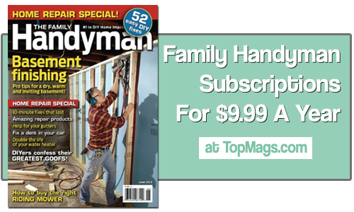 family handyman magazine subscriptions 3