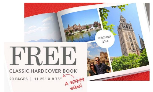 MyPublisher Deal: FREE Hardcover Photo Book!