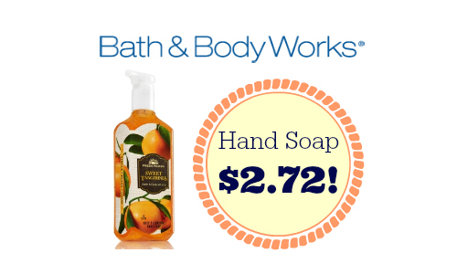 hand soap deal