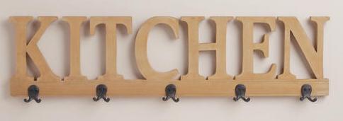 kitchen wall racker