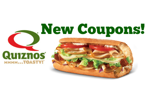new quiznos coupons