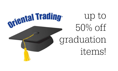 Oriental Trading Up to 50 off Graduation Party Items  Southern