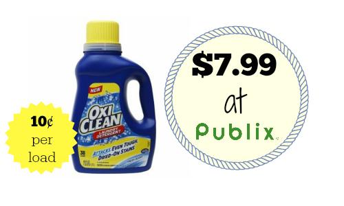 oxi clean detergent deal
