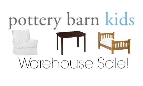 Pottery Barn Kids: Warehouse Sale + Free Shipping