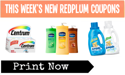 REDPLUM COUPONS NOT PRINTING