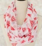 sailboat scarf