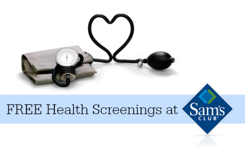 health screenings sam's club