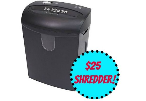 shredder deal