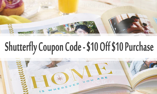 shutterfly coupon code 10 off 10