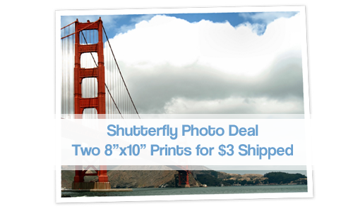 shutterfly photo deal 8x10 prints