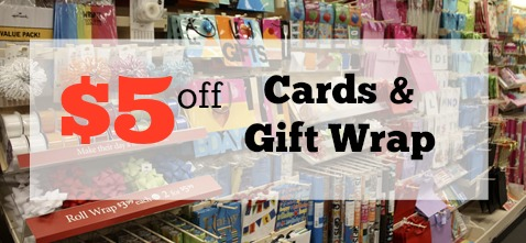 target coupon $5 off cards