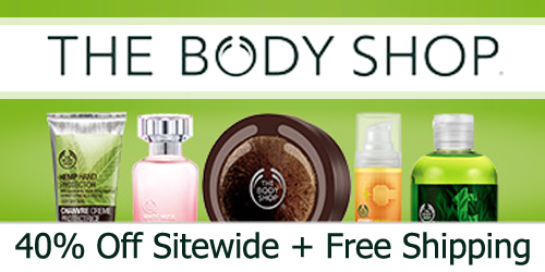 the body shop 40 off sale