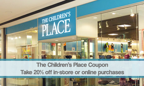 the childrens place coupon