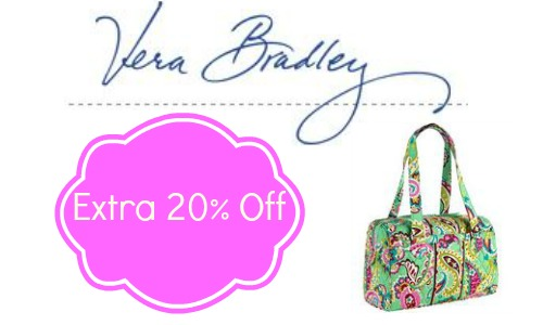 bc4310cd77 Vera Bradley is offering and additional 20% off sale items! There is no  coupon code needed so it s a perfect time to grab a new Spring bag or a  gift!
