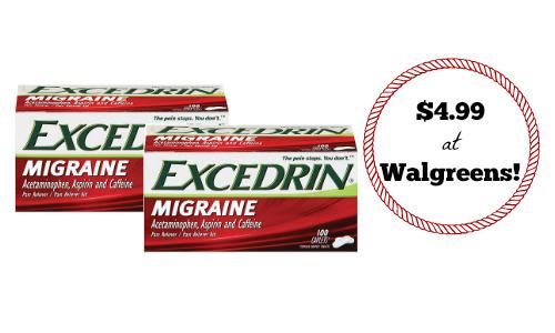 walgreens excedrin deal