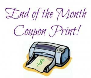 Printables coupons