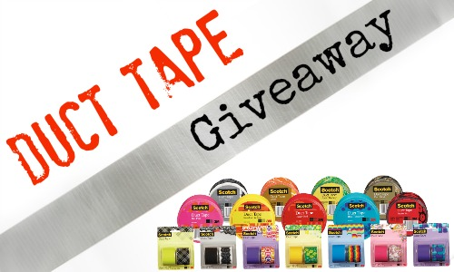 Duct Tape Giveaway