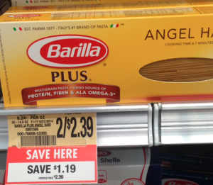 barilla plus coupon