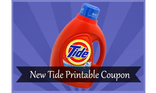 Tide Printable Coupon and Target Detergent Deal Ideas