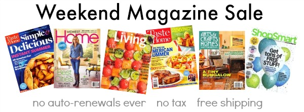 Weekend Magazine Sale