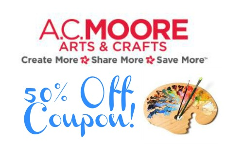 A.C. Moore Coupon: 65% Off Custom Framing + More :: Southern Savers