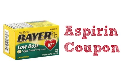 aspirin coupon