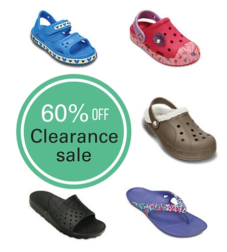 crocs clearance sale