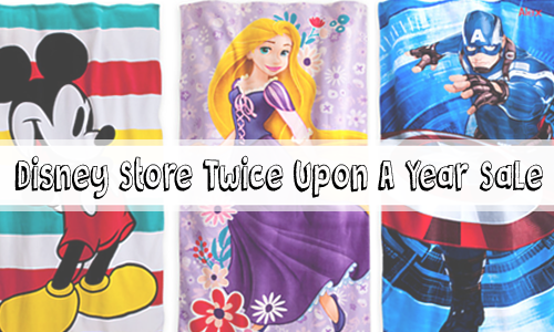 disney store twice upon a year sale