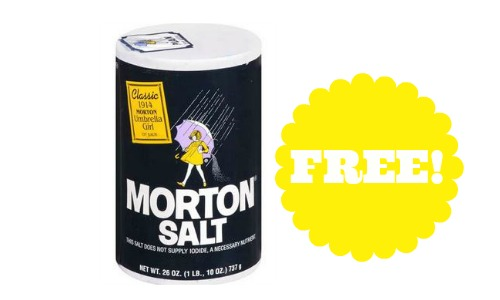 Morton Salt Container