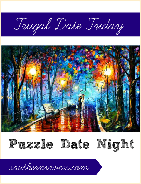 frugal date friday puzzle date night