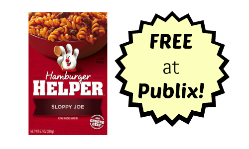 hamburger helper publix deal