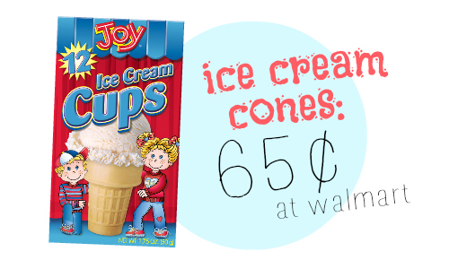 joy ice cream cones