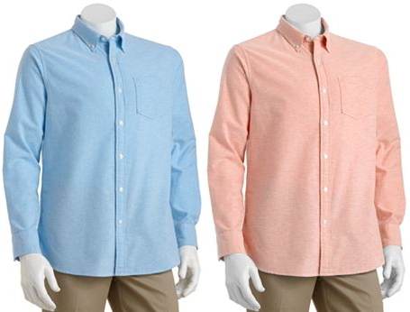 kohls sonoma oxford shirt