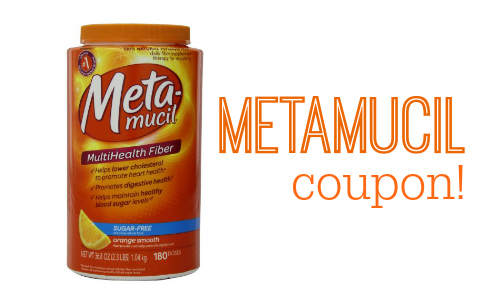 photo regarding Metamucil Coupons Printable known as Metamucil Coupon Buy Bottles for $5.94 Every at Concentration