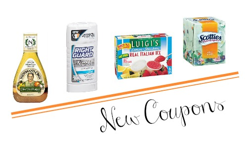 new coupons