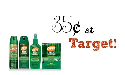 off! target deal