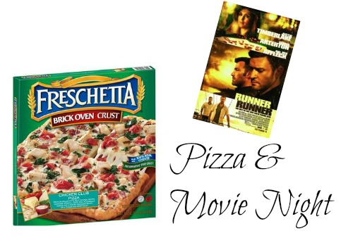 pizza and movie