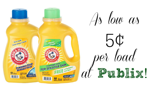 publix arm hammer laundry deal