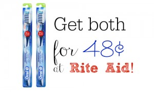 rite aid oral b deal