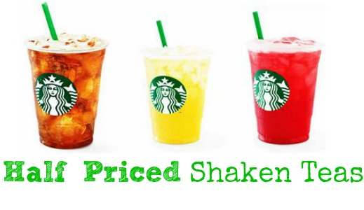 Starbucks Free Shaken Iced Tea