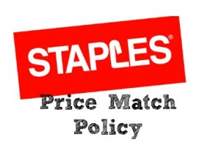 staples price match