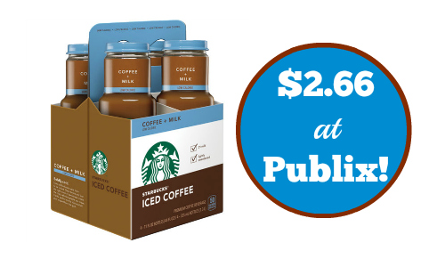 starbucks iced coffee deal