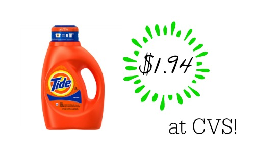 tide cvs deal