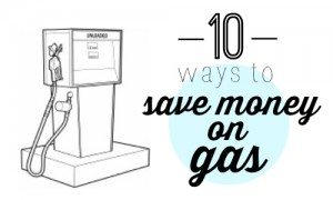 Yes, there are ways to save money on gas! Here's a list of 10 things that you can do to use gas more efficiently!