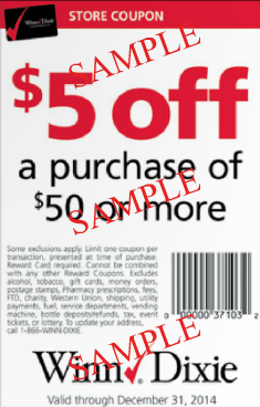 winn dixie coupon