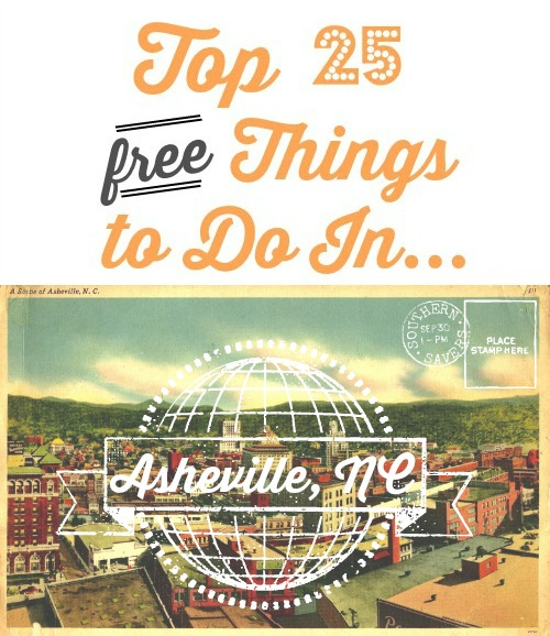 25 free things to do in asheville