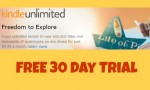 Amazon Kindle Unlimited: Free 30 Day Trial
