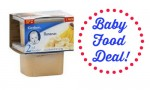 Kroger Deal: Gerber 2nd Foods Baby Food, 61¢