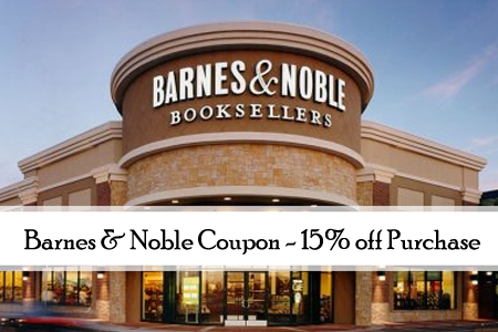 barnes and noble printable coupon
