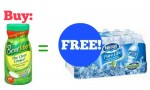 New Free Nestle Pure Life Water With Benefiber Purchase Coupon